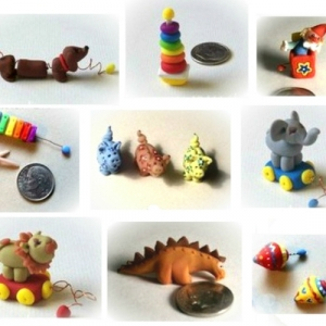 TINY DOLLHOUSE TOYS ... 28