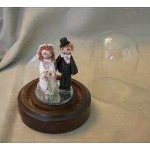 Tiny Bride and Groom  1 Inch