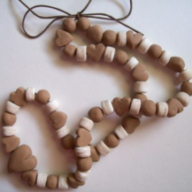 Choco Necklace Tutorial